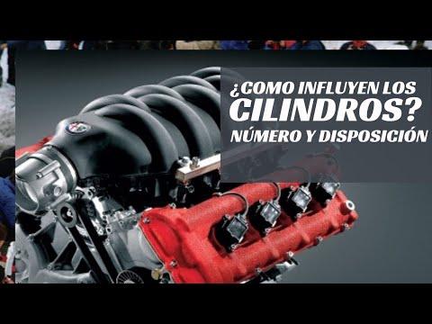 ¿Cómo influyen los cilindros en un coche? Número y disposición