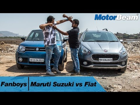 Maruti Suzuki vs Fiat - Fanboys: Episode 5 | MotorBeam