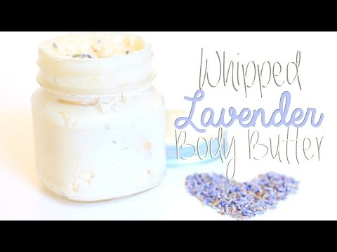 DIY Whipped Shea Butter with Lavender