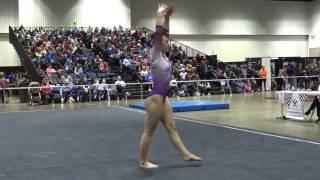 Samantha Medal, Legacy Elite   L10 Floor 2017 Region 5 Championships