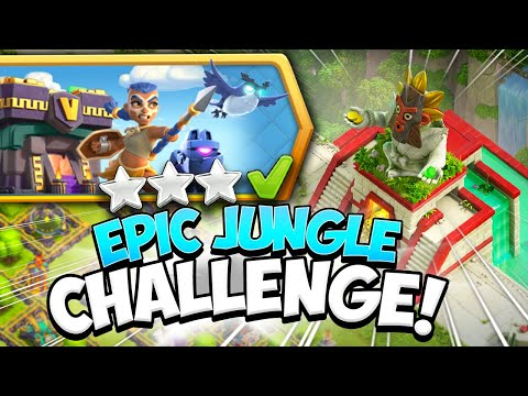 How to Easily Beat the Epic Jungle Challenge in Clash of Clans - COC - Kenny Jo