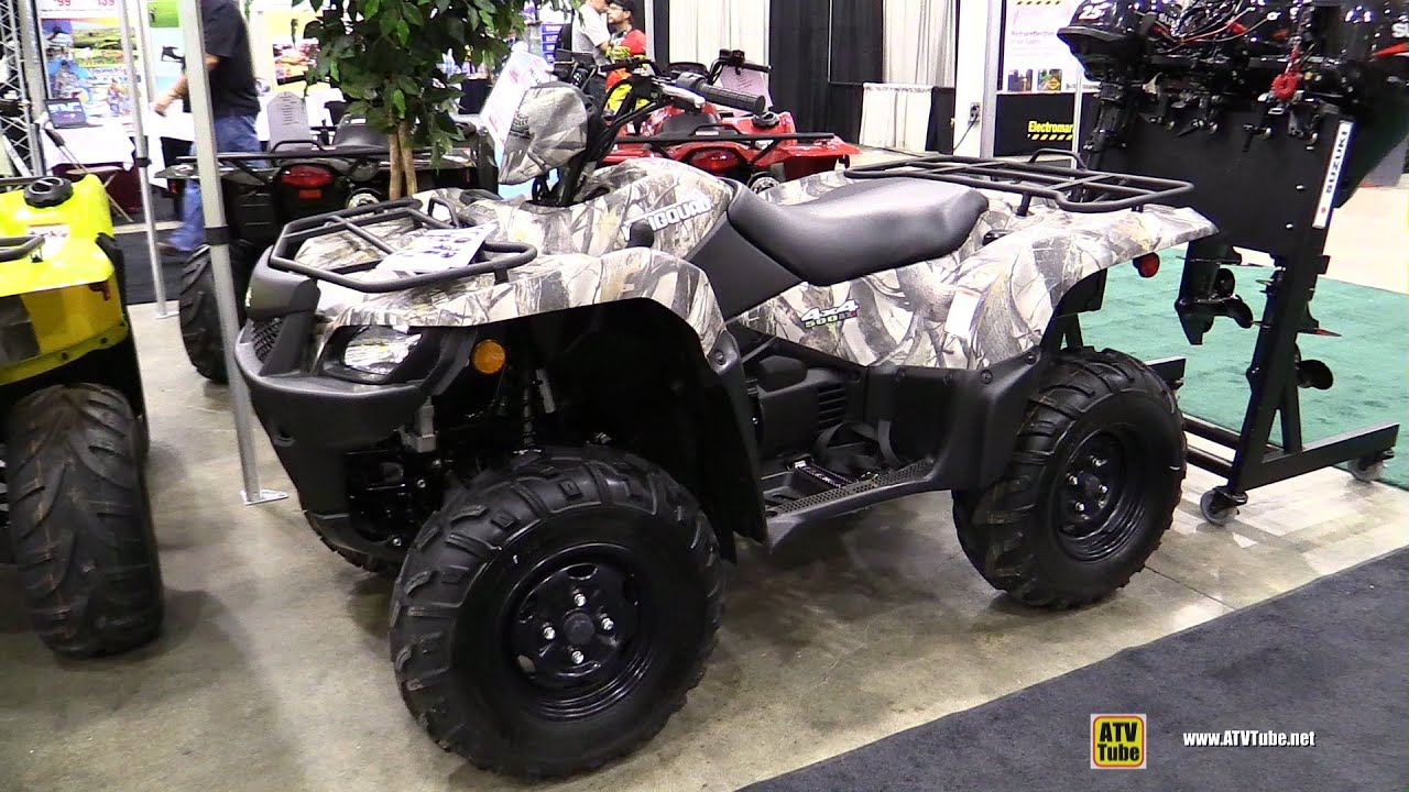 2014 suzuki king quad 500 lt a500xpcl4 walkaround 2014. Black Bedroom Furniture Sets. Home Design Ideas