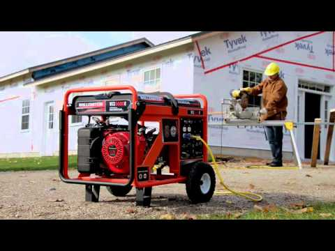 Wallenstein Generators - Home Backup & Jobsite Models
