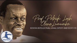 When Europe Was Still in  Caves Africa was Building Monuments, PLO Lumumba