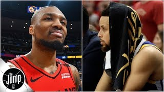 Download Damian Lillard says Warriors a better matchup for Blazers than Nuggets | BS or Real Talk | The Jump Mp3 and Videos
