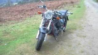Diesel V Twin motorbike.