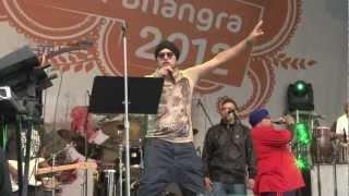 Dalvinder Singh - LIVE - VIBC 2012 City of Bhangra