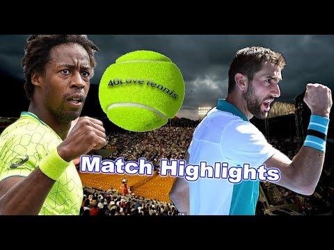 Marin Cilic vs Gael Monfils -  RIO Open R2