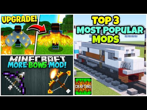 Top 3 Most Popular Mods For Crafting And Building | Without Zarchiver | Annie X Gamer