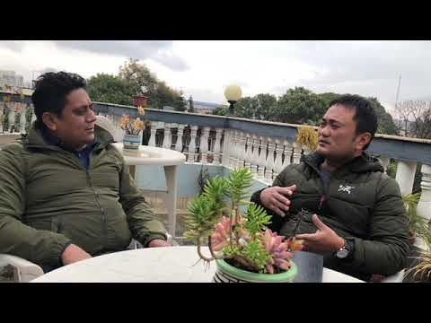 Interview by Dinesh Shrestha