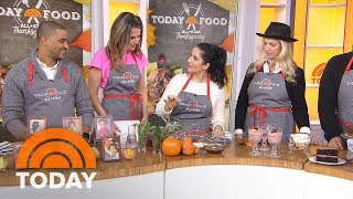 Top Chefs Alejandra Ramo, Donatella Arpaia's Tips On Thanksgiving Desserts, Décor And Drinks | TODAY