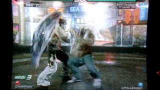 Tekken 6 BR - Devil Jin(nOOb_Saibot) vs Armor King(EnDeRDarkDeath)