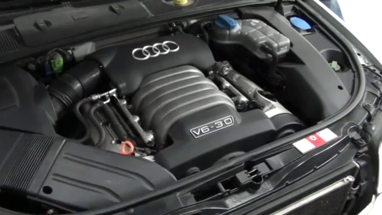 how to change audi a4 oil filter 3 0l youtube. Black Bedroom Furniture Sets. Home Design Ideas