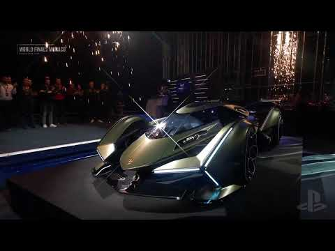 Gran Turismo & Lamborghini Unveil the V12 Vision GT