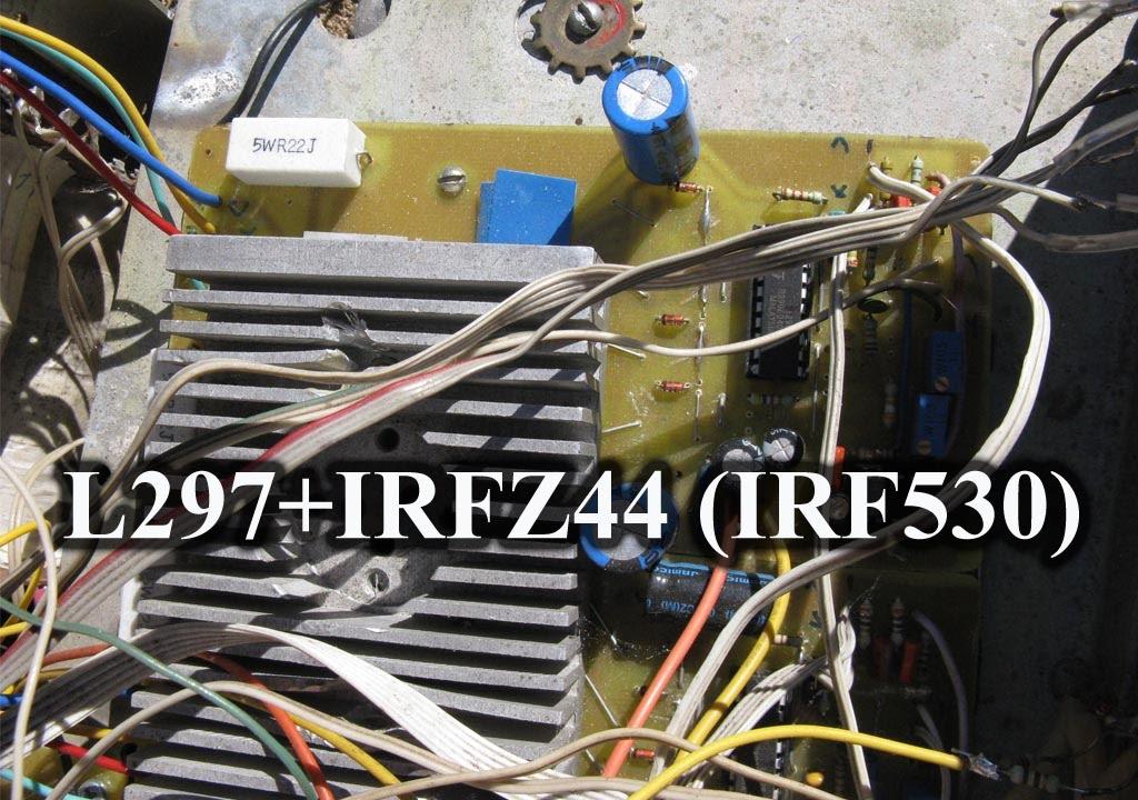 Под�обн�й обзо� кон��олле�а на l297 irfz44 irf530