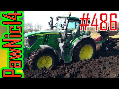 Gleba Torfowa & Kverneland 150S & JD 6105MC - Życie Zwyczajnego Rolnika #486