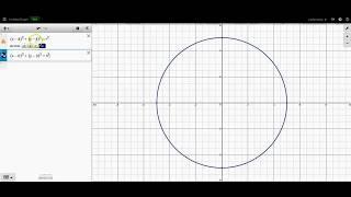 Circles: Equation of a Circle (Desmos)