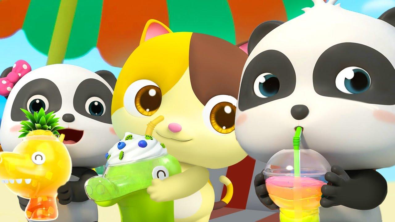 Download Bayi Panda & Jus Segarnya   Lagu Jus Segar & Enak   Lagu Anak-anak   BabyBus Bahasa Indonesia