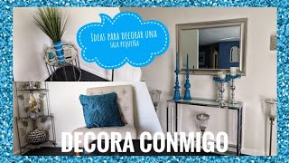 Como decorar una sala pequeña/Ideas para decorar.Antesala.