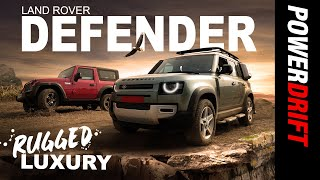 Land Rover Defender Takes Us To The Skies | Giveaway Alert! | PowerDrift