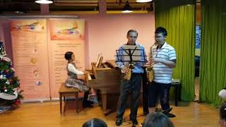 Crescendo Dance Music and Art centre JLT. Saxophone lessons.
