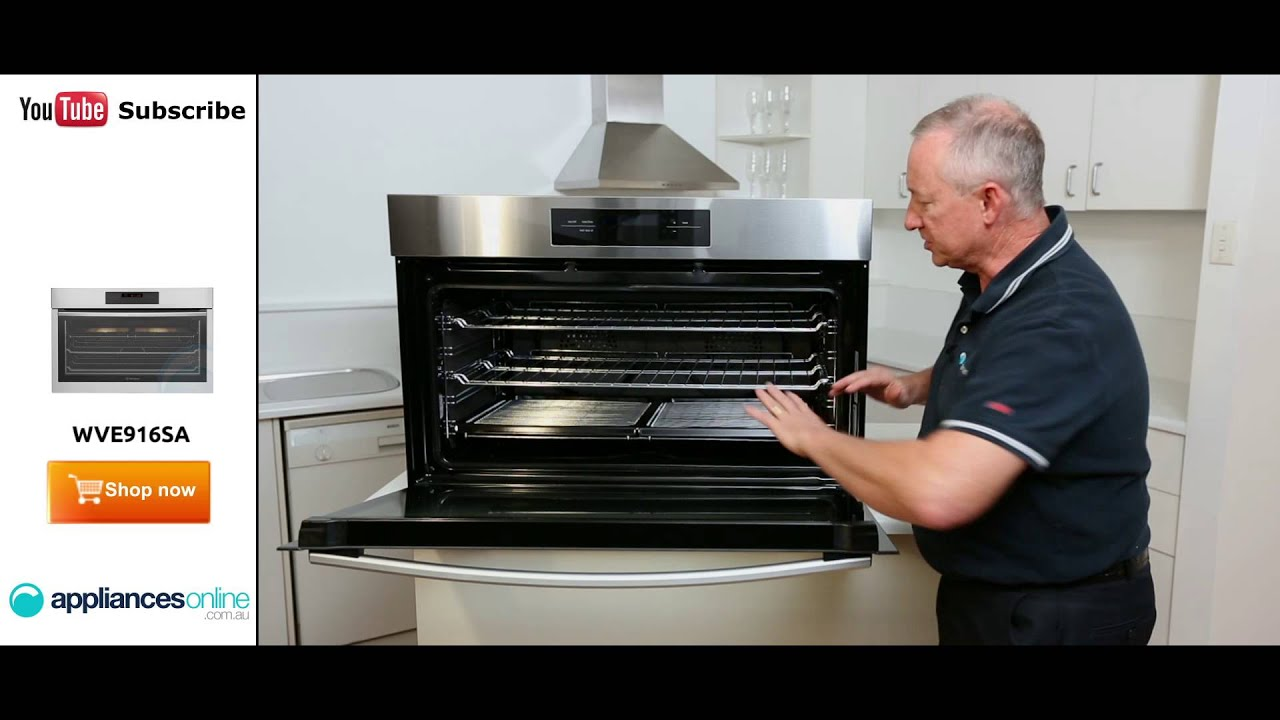Westinghouse Kitchen Appliances 900mm Westinghouse Electric Wall Oven Wve916sa Reviewed By Expert
