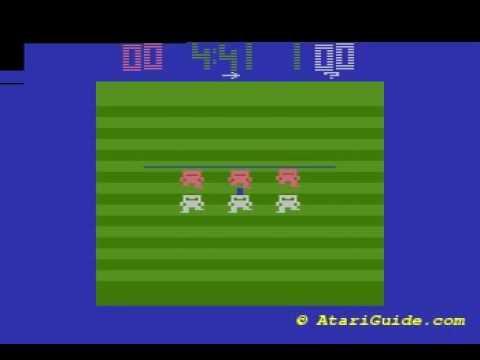 Atari 2600 Football 1978 Atari O1 Youtube