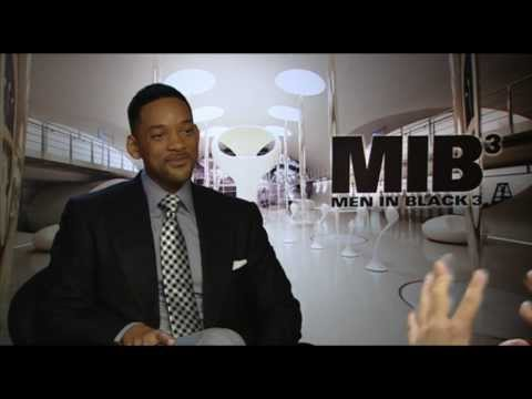 Will Smith fun Interview - star of AFTER EARTH & Men In Black 3