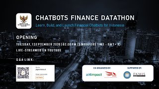 Download Chatbots Finance Datathon - Opening Session [1 September 2020 - 2PM Singapore Time]