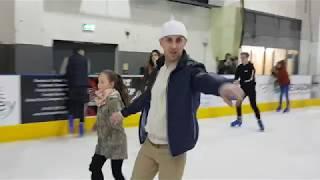 Maja Telford Ice Skating
