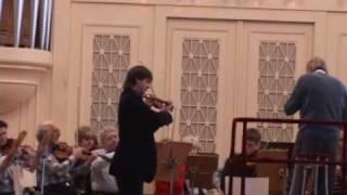 Mendelssohn Violin Concerto in St. Petersburg - Allegretto non troppo -- Allegro molto vivace