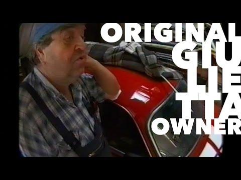 The original owner - Alfa Romeo Giulietta SV