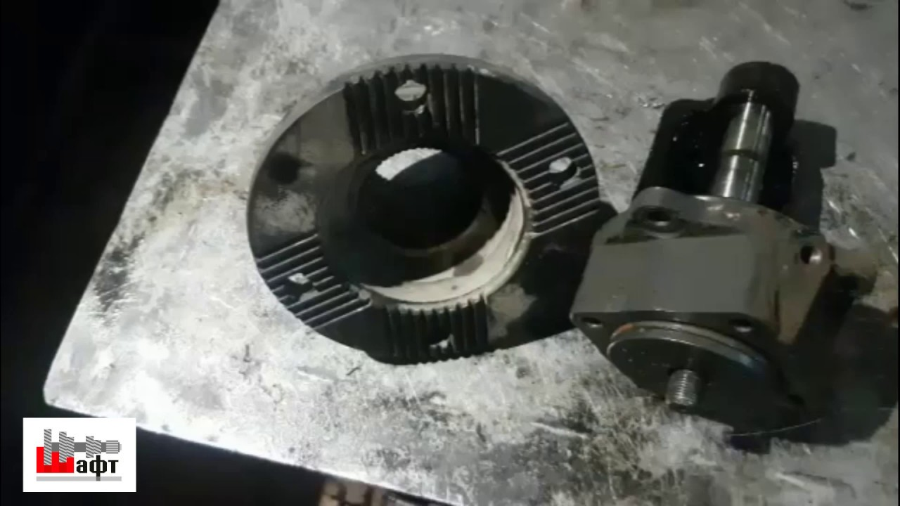 Ремонт демультипликатора на КПП 9JS135TA