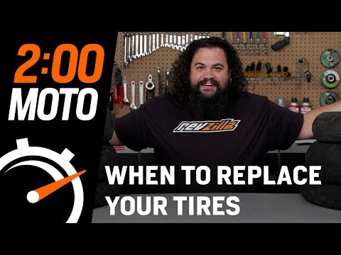 2 Minute Moto - When To Replace Your Tires
