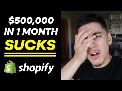 I Made $500,000 In 1 Month... BUT (Shopify Dropshipping) thumbnail