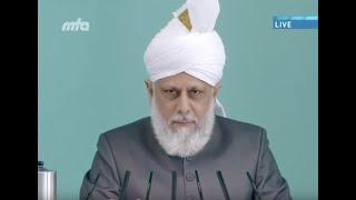 Finanzielle Opferbereitschaft und neues Waqf-e-Jadid Jahr - Freitagsansprache 4. Januar 2013