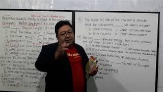 Pada Vidio ini Anda akan belajar post test dari Longman Nomer 13-15...