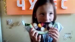 Как приготовить фруктовый желейный арбуз