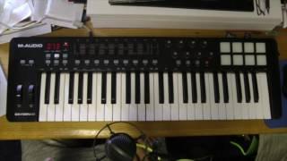 M Audio Oxygen 49 & Ableton Live Demo