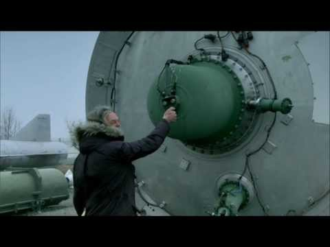 Top Gear - James May attempts to ignite a SS-18 Satan nuclear missle with a lighter
