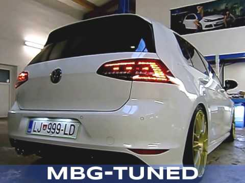 mbg auspuff sound booster golf 7 2 0 tdi youtube. Black Bedroom Furniture Sets. Home Design Ideas