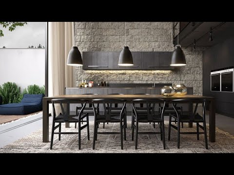 Stylish dining room design and dining table collection 2020