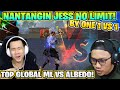DITANTANG BY ONE SAMA JESS NO LIMIT! PLAYER ML VS PLAYER FF!