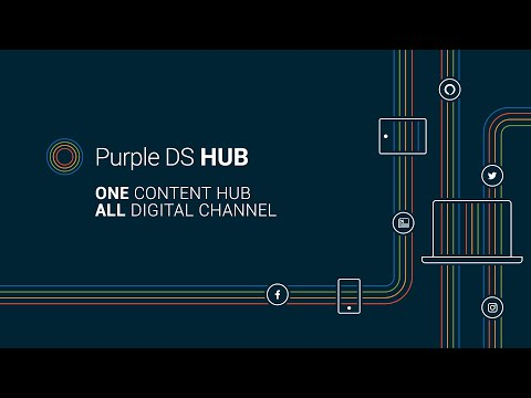 Purple DS HUB - The content hub for all your channels