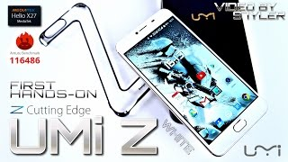 UMi Z White (Unboxing/First Impressions) Worlds First Helio X27 Smartphone, 13MP Cam + Laser Focus