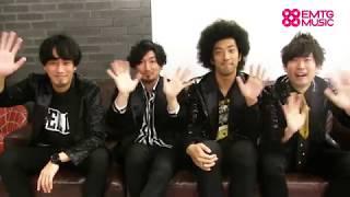 EMTG MUSIC にてBRADIOのインタビュー&コメント動画を公開! http://mu...