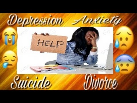 anxiety during divorce