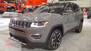 2019 Jeep Compass Limited 4x4 - Exterior And Interior Walkaround - 2019 Quebec Auto Show