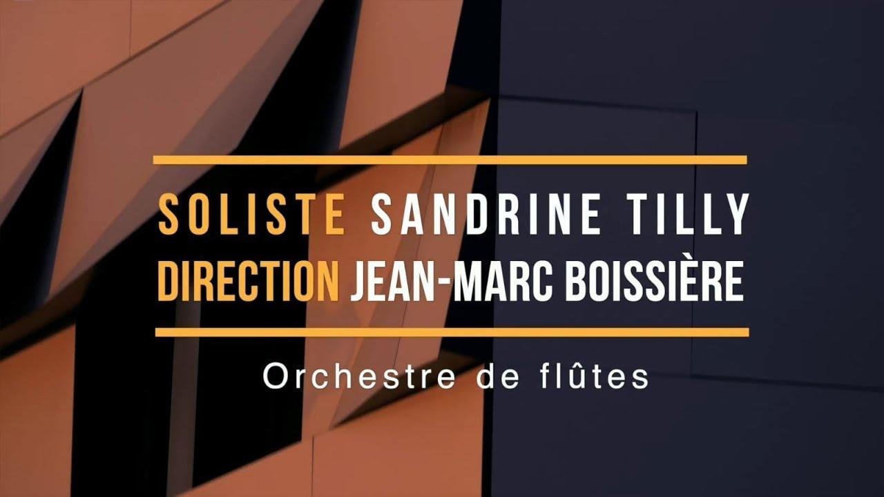 Master Class de Sandrine Tilly & concert avec Orchestre de flûtes au Conservatoire d'Aix-en-Provence