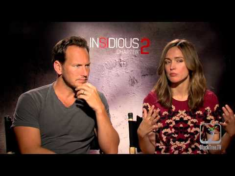 INSIDIOUS: CHAPTER 2 interviews with Rose Byrne and Patrick Wilson